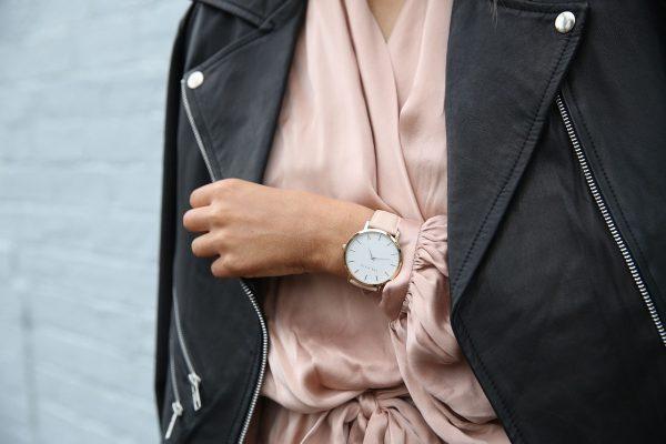 Minimalistyczny zegarek